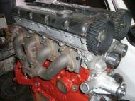 16v to 8v exhaust manifold adapter kit