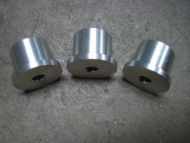 Volvo billet aluminum accessory bushings
