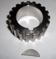 Billet steel 16v crank gear
