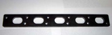 Volvo 5 cyl white block exhaust manifold flange
